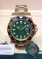 Rolex replica GMT Master II 116718LN Yellow Gold5